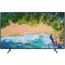 "Телевизор LED Samsung 65"" UE65NU7100UXRU черный/Ultra HD/1400Hz/DVB-T2/DVB-C/DVB-S2/USB/WiFi/Smart TV (RUS)"