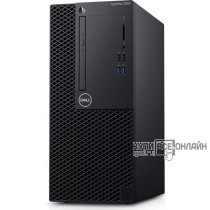 ПК Dell Optiplex 3060 MT i5 8500 (3)/4Gb/500Gb 7.2k/UHDG 630/DVDRW/Linux/GbitEth/260W/клавиатура/мышь/черный