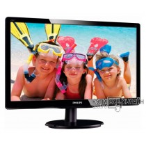 "Монитор Philips 21.5"" 226V4LAB (00/01) черный TN+film LED 5ms 16:9 DVI M/M матовая 250cd 1920x1080 D-Sub FHD 3.34кг"