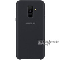 Чехол (клип-кейс) Samsung для Samsung Galaxy A6+ (2018) Dual Layer Cover черный (EF-PA605CBEGRU)