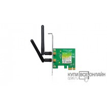 Сетевой адаптер WiFi TP-Link TL-WN881ND PCI Express x1 (ант.внеш.съем) 2ант.