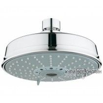 Верхний душ GROHE Rainshower Rustic, 4 режима, диаметр 160 мм, хром  27128000 G27128000