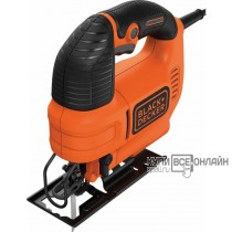 Лобзик Black & Decker KS701PEK-XK 520Вт 3000ходов/мин от электросети (кейс в комплекте)