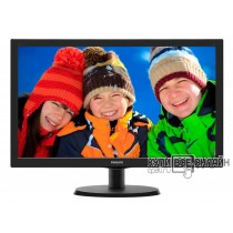 "Монитор Philips 21.5"" 223V5LSB2 (10/62) черный TN+film LED 5ms 16:9 матовая 200cd 1920x1080 D-Sub 2.61кг"