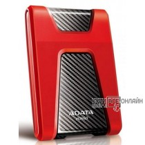 "Жесткий диск A-Data USB 3.0 2Tb AHD650-2TU31-CRD HD650 DashDrive Durable 2.5"" красный"