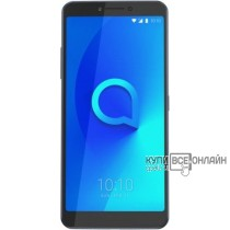 "Смартфон Alcatel 5099D 3V 16Gb 2Gb черный моноблок 3G 4G 2Sim 6.0"" 1080x2160 Android 8.0 12Mpix 802.11abgnac BT GPS GSM900/1800 GSM1900 MP3 A-GPS microSD max128Gb"