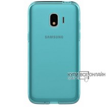 Чехол (клип-кейс) Samsung для Samsung Galaxy J2 (2018) WITS SOFT COVER синий (GP-J250WSCPAAB)