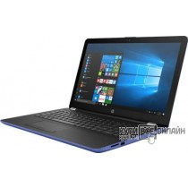 "Ноутбук HP 15-bw515ur E2 9000e/4Gb/500Gb/AMD Radeon R2/15.6""/HD (1366x768)/Windows 10/blue/WiFi/BT/Cam"