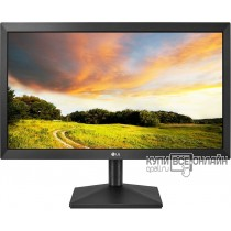 "Монитор LG 19.5"" 20MK400A-B черный TN+film LED 5ms 16:9 матовая 600:1 200cd 1366x768 D-Sub HD READY 2.3кг"
