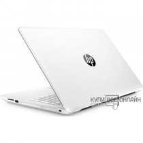 "Ноутбук HP 15-bs588ur Pentium N3710/4Gb/500Gb/Intel HD Graphics 405/15.6""/FHD (1920x1080)/Windows 10/white/WiFi/BT/Cam"