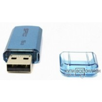 Флеш Диск Silicon Power 16Gb Helios 101 SP016GBUF2101V1B USB2.0 синий