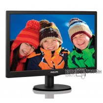 "Монитор Philips 18.5"" 193V5LSB2 (10/62) черный TN+film LED 5ms 16:9 матовая 10000000:1 200cd 1366x768 D-Sub 2.15кг"