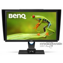 "Монитор Benq 27"" SW2700PT черный IPS LED 5ms 16:9 DVI HDMI матовая HAS Pivot 20000000:1 350cd 178гр/178гр 2560x1440 DisplayPort QHD USB"