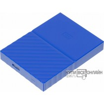 "Жесткий диск WD Original USB 3.0 1Tb WDBBEX0010BBL-EEUE My Passport 2.5"" синий"