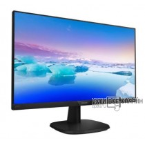 "Монитор Philips 23.8"" 243V7QJABF (00/01) черный IPS LED 5ms 16:9 HDMI M/M матовая 1000:1 250cd 178гр/178гр 1920x1080 D-Sub DisplayPort FHD 3.66кг"