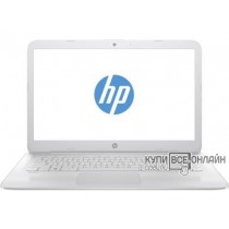"Ноутбук HP Stream 14-ax013ur Celeron N3060/2Gb/eMMC32Gb/Intel HD Graphics 400/14""/HD (1366x768)/Windows 10 64/white/WiFi/BT/Cam"