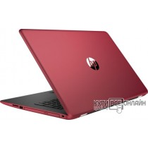 "Ноутбук HP 17-ak043ur A6 9220/4Gb/500Gb/DVD-RW/AMD Radeon 520 2Gb/17.3""/HD+ (1600x900)/Windows 10 64/red/WiFi/BT/Cam"