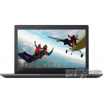 "Ноутбук Lenovo IdeaPad 320-15IAP Pentium N4200/4Gb/500Gb/DVD-RW/Intel HD Graphics 505/15.6""/HD (1366x768)/Free DOS/black/WiFi/BT/Cam"
