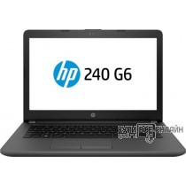 "Ноутбук HP 240 G6 Core i5 7200U/8Gb/SSD256Gb/DVD-RW/Intel HD Graphics 620/14""/SVA/HD (1366x768)/Free DOS 2.0/black/WiFi/BT/Cam"