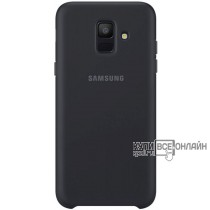 Чехол (клип-кейс) Samsung для Samsung Galaxy A6 (2018) Dual Layer Cover черный (EF-PA600CBEGRU)