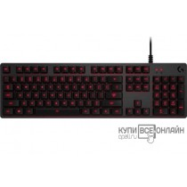 Клавиатура Logitech G413 Carbon черный USB 2.0 Multimedia Gamer LED