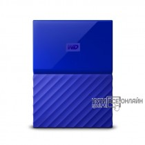 "Жесткий диск WD Original USB 3.0 4Tb WDBUAX0040BBL-EEUE My Passport (5400rpm) 2.5"" синий"
