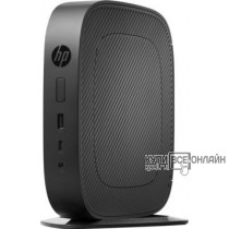 Тонкий Клиент HP Flexible t530 slim GX-215JJ (1.5)/4Gb/SSD8Gb/R2E/HP Smart Zero 32/GbitEth/45W/клавиатура/черный