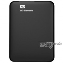 "Жесткий диск WD Original USB 3.0 4Tb WDBU6Y0040BBK-WESN Elements Portable 2.5"" черный"