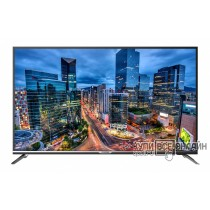 "Телевизор LED Hyundai 43"" H-LED43F501SS2S серебристый/FULL HD/60Hz/DVB-T/DVB-T2/DVB-C/DVB-S2/USB/WiFi/Smart TV (RUS)"
