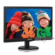 "Монитор Philips 19.5"" 203V5LSB26 (10/62) черный TN+film LED 5ms 16:9 матовая 200cd 1600x900 D-Sub 2."
