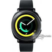 "Смарт-часы Samsung Galaxy Gear Sport 1.2"" Super AMOLED черный (SM-R600NZKASER)"