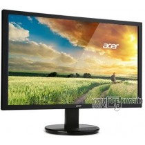 "Монитор Acer 27"" K272HLEbd черный VA LED 4ms 16:9 DVI матовая 300cd 1920x1080 D-Sub FHD 5кг"