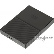 "Жесткий диск WD Original USB 3.0 1Tb WDBBEX0010BBK-EEUE My Passport 2.5"" черный"