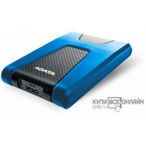"Жесткий диск A-Data USB 3.0 1Tb AHD650-1TU31-CBL HD650 DashDrive Durable 2.5"" синий"