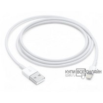 Кабель Apple MQUE2ZM/A Lightning (m) USB A(m) 1м белый