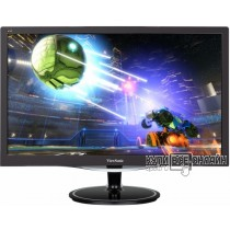 "Монитор ViewSonic 23.6"" VX2457-MHD черный TN+film LED 2ms 16:9 HDMI M/M матовая 300cd 170гр/160гр 19"