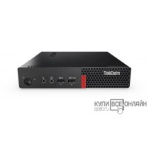 ПК Lenovo ThinkCentre M710q Tiny slim P G4560T (2.9)/4Gb/SSD128Gb/HDG610/noOS/GbitEth/WiFi/BT/65W/клавиатура/мышь/черный