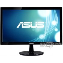 "Монитор Asus 19.5"" VS207DF черный TN+film LED 5ms 16:9 матовая 600:1 200cd 1366x768 D-Sub HD READY 2.59кг"