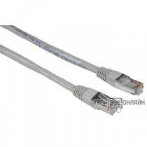 Патч-корд Hama H-30590 STP cat5E 10м серый RJ-45 (m)-RJ-45 (m)