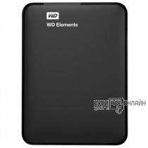 "Жесткий диск WD Original USB 3.0 1Tb WDBUZG0010BBK-WESN Elements Portable 2.5"" черный"