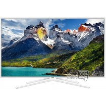 "Телевизор LED Samsung 43"" UE43N5510AUXRU белый/FULL HD/100Hz/DVB-T2/DVB-C/DVB-S2/USB/WiFi/Smart TV (RUS)"