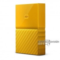 "Жесткий диск WD Original USB 3.0 2Tb WDBLHR0020BYL-EEUE My Passport 2.5"" желтый"
