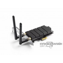 Сетевой адаптер WiFi TP-Link Archer T6E PCI Express x1 (ант.внеш.съем) 2ант.
