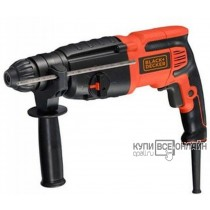 Перфоратор Black & Decker BDR26K-RU патрон:SDS-plus уд.:2.7Дж 800Вт (кейс в комплекте)