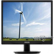 "Монитор Philips 19"" 19S4QAB (00/01) черный IPS LED 5:4 DVI M/M матовая 250cd 1280x1024 D-Sub HD READY 3.2кг"