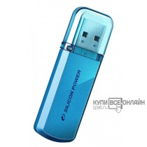 Флеш Диск Silicon Power 8Gb Helios 101 SP008GBUF2101V1B USB2.0 синий